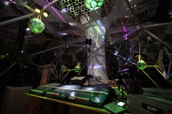 マルチ・チャンネル・スピーカー・オーケストラによるアクースモニウム・ライブ