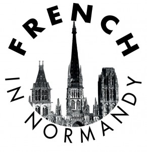 LOGO FRENCH IN NORMANDY VECTOR