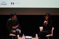 Feuilles d'automne 2014; rencontre de Ryôko Sekiguchi et Kazumichi Hashimoto autours de Dîner Fantasma