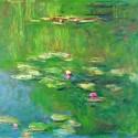 クロード・モネ 《睡蓮のある池》 1919年 / 油彩・キャンヴァス