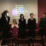 Concours de karaoke en français