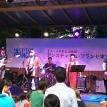 Takashi Umemiya and the comrades