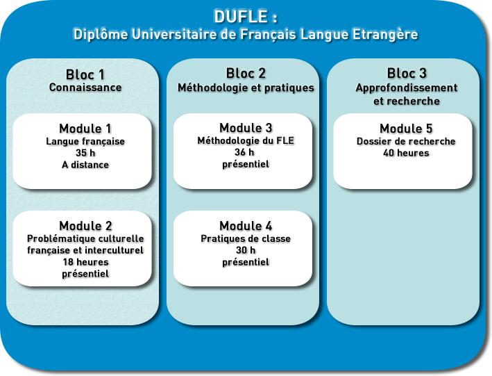 Diplôme Universitaire de Français Langue Etrangère - DUFLE
