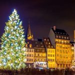 "Christmas tree in Strasbourg, ""Capital of Christmas"". 2014 - Alsace, France"