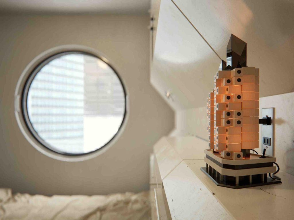 Nakagin Capsule Tower - Image : Bertrand Benoit