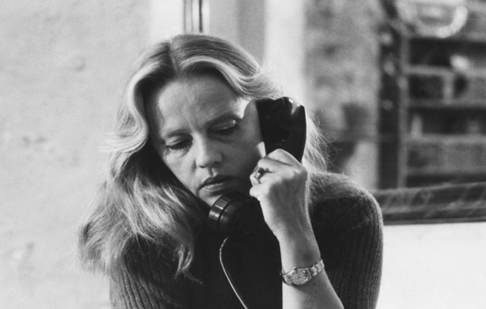 Nathalie Granger (1972) | Pers: Jeanne Moreau | Dir: Marguerite Duras | Ref: NAT002AF | Photo Credit: [ Mouflet Et Cie / The Kobal Collection ] | Editorial use only related to cinema, television and personalities. Not for cover use, advertising or fictional works without specific prior agreement