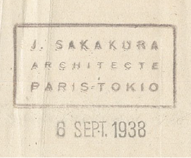 J. SAKAKURA ARCHITECTE PARIS-TOKIO