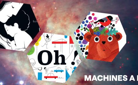 Illustration Machines à lire