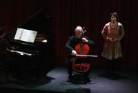 Concert d'Anne Le Bozec et Alain Meunier avec les élèves de leurs master classes