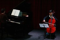 アンヌ・ル・ボゼックとアラン・ムニエとマスタークラスの生徒によるコンサート
