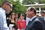 Etudiants japonais : François Hollande facilite les procédures de visa