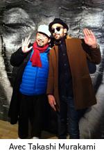 Avec Takashi Murakami
