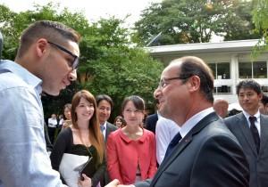 オランド大統領、日本人の学生ビザ取得手続きの簡略化を推進