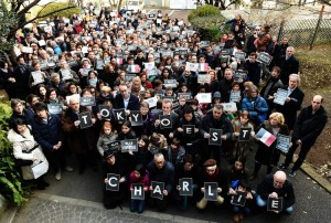 Rassemblement à l'Institut français du Japon – Tokyo – 11 janvier 2015 –