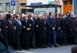 Rassemblement républicain à Paris – 11 janvier 2015 – Photo : MAEDI/F. de la Mure