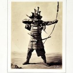 ギメ東洋美術館よりアポリネール・ル・バ[日本の武者]、1864 ©Guimet