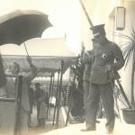 Inauguration du nouveau bâtiment en présence du Prince Higashikuni en 1936 東久邇宮殿下迎えての新館落成式(1936年)