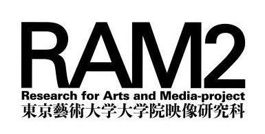 RAM2_logo_white+geidai